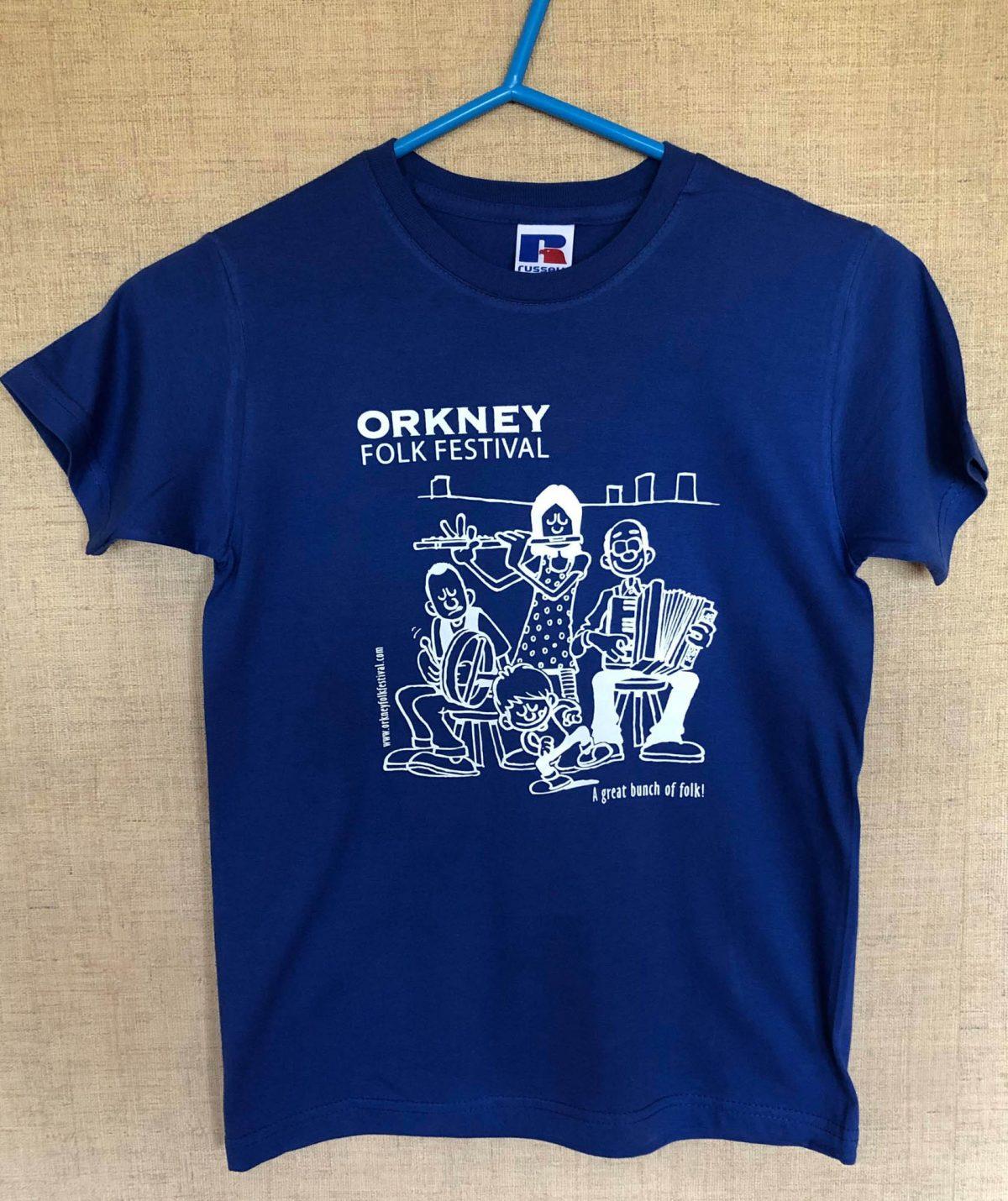 T-shirt Childrens Blue